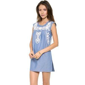 Tory Burch Calita Dress in Blue